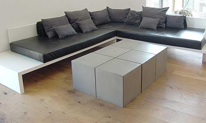 cubes couchtische aus beton. Black Bedroom Furniture Sets. Home Design Ideas